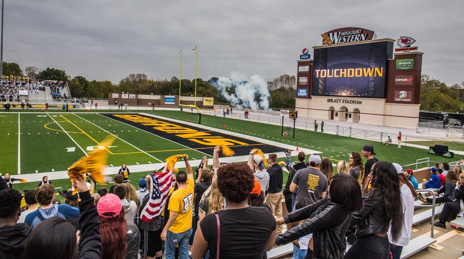 Football Game Day promotions set - Missouri Western State